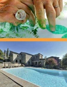 , Stage de Yoga et expression créative en Ardèche (France) – juillet 2021